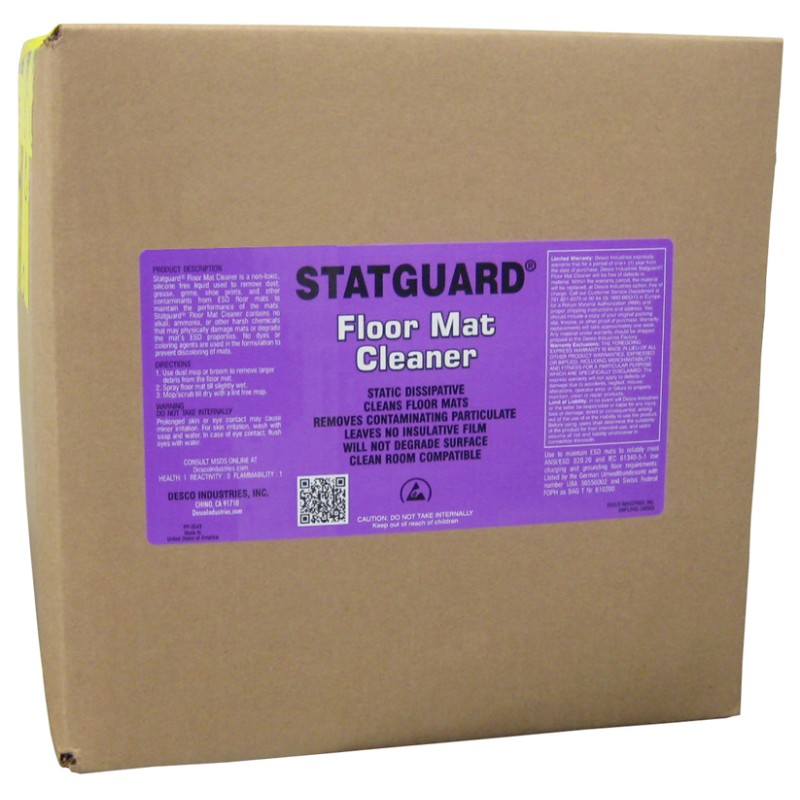 10445 - STATGUARD FLOOR MAT CLEANER, 5